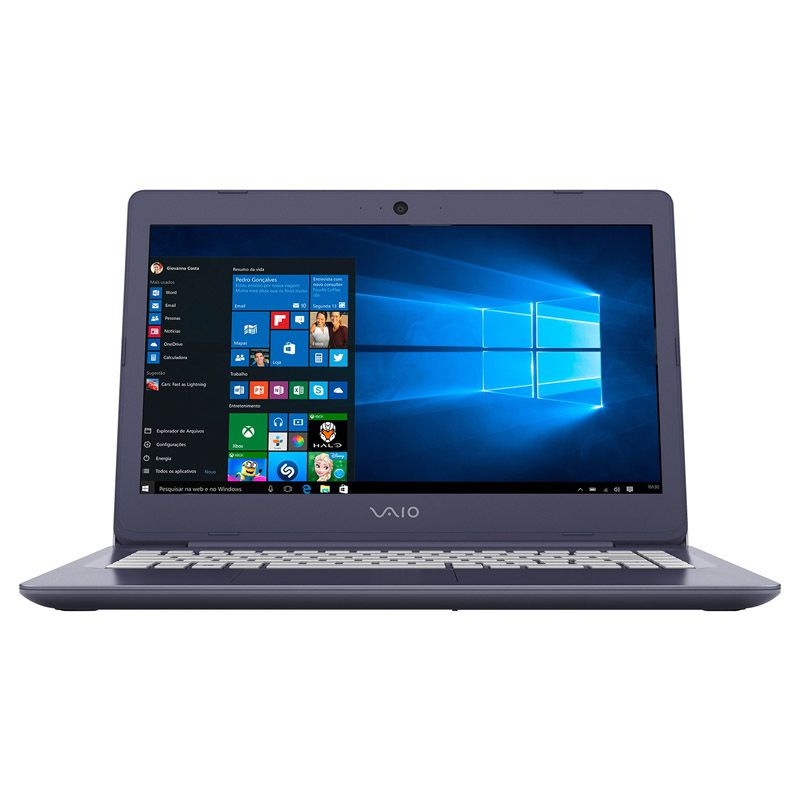 Notebook Vaio Fit 14 - Intel Core i3, 4GB, HD de 1TB, Tela LED 14