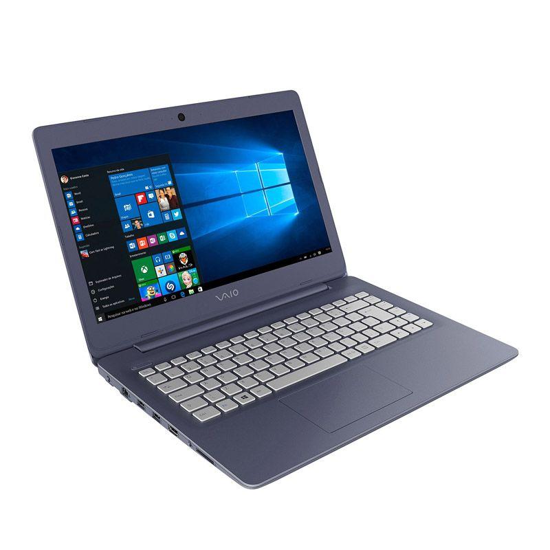 """Notebook Vaio Fit 14 - Intel Core i3, 4GB, HD de 1TB, Tela LED 14"""""""