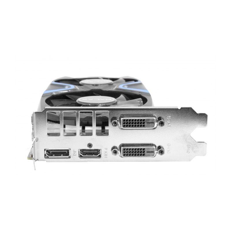 Placa de Vídeo Galax GeForce GTX 1050TI Exoc - 4GB, GDDR5, PCI-EXP