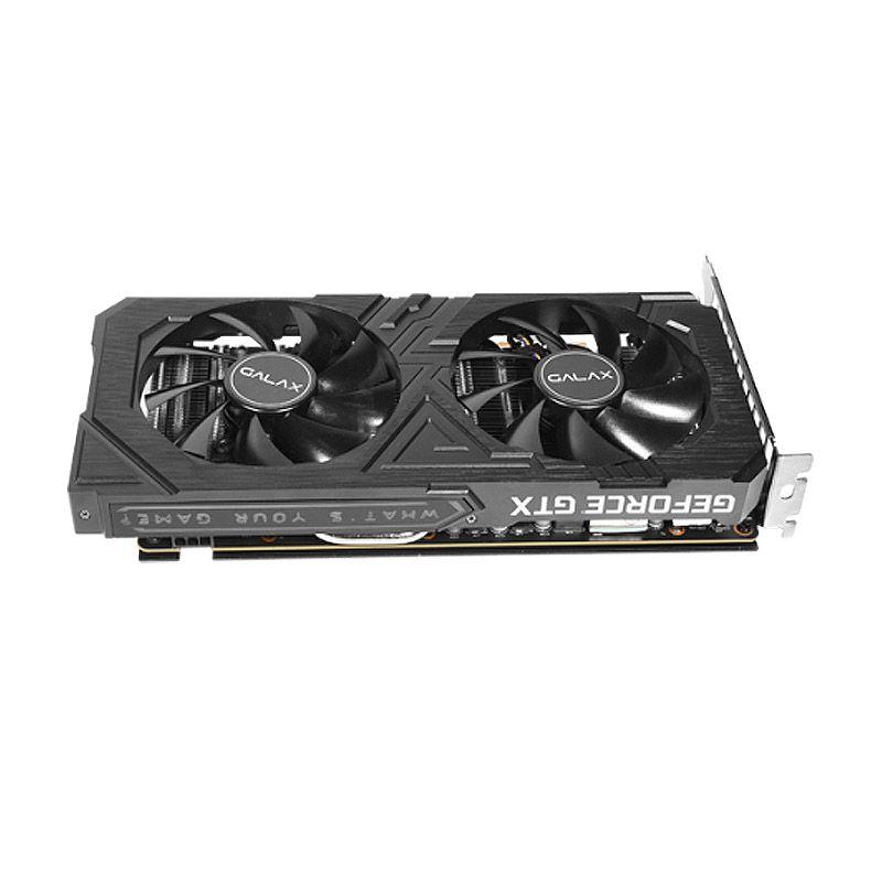 Placa de Vídeo Galax GeForce GTX 1660Ti - 6GB, GDDR6, HDMI, DVI-D, 1-Click OC