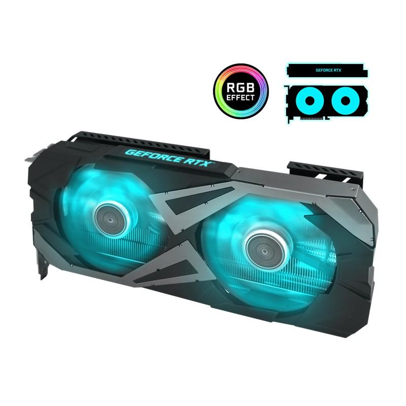Placa de Vídeo GeForce RTX 3060 Ti EX 8GB Galax - GDDR6, 256 Bits, 1-Click OC