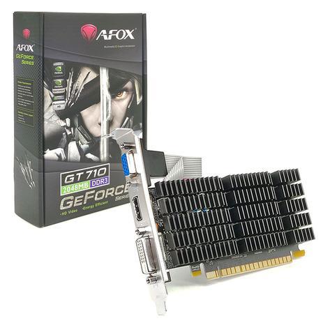 Placa de vídeo Geforce GT710 - 2GB Afox