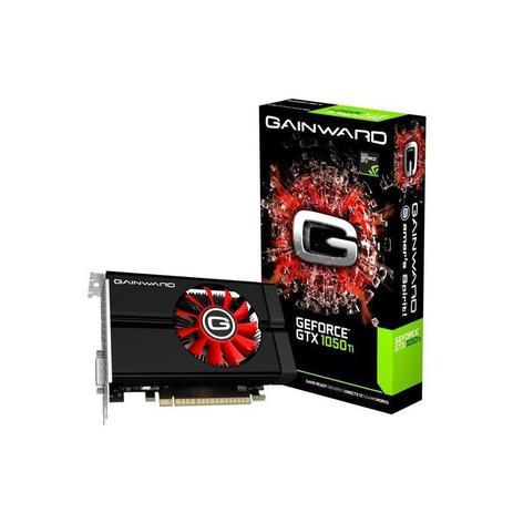 Placa de Vídeo GeForce GTX 1050Ti 4GB DDR5, 128 Bits, Gainward