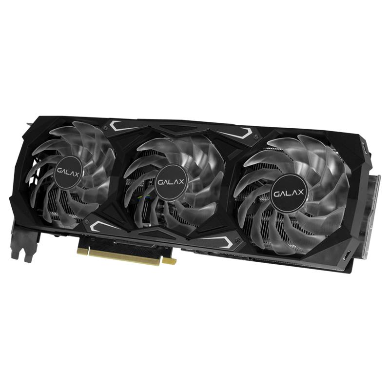 Placa de vídeo GeForce RTX 3080 SG 10GB Galax - GDDR6X 320 Bits