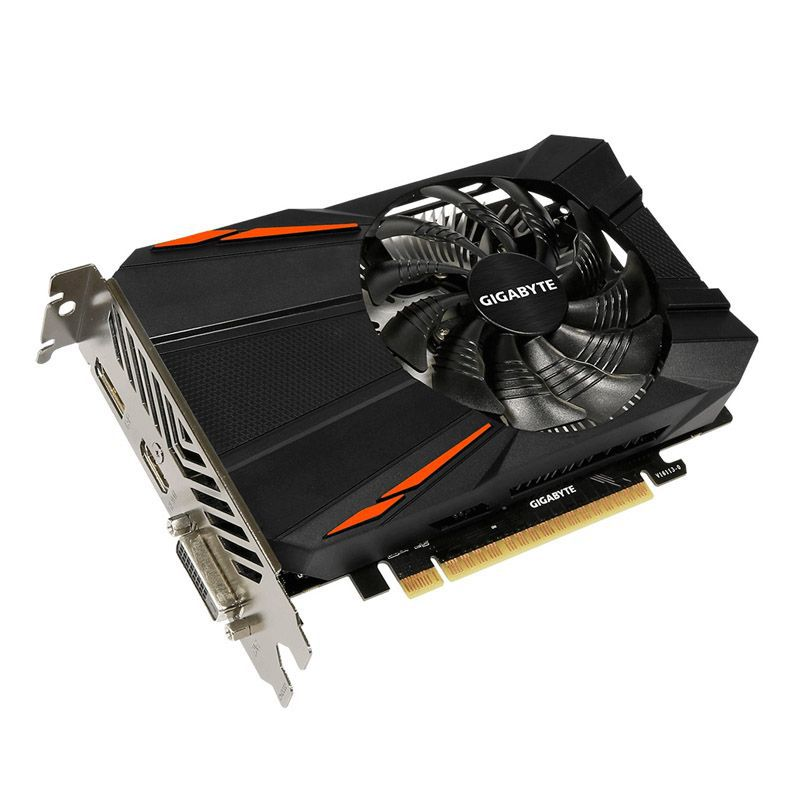 Placa de Vìdeo GeForce GTX 1050 2GB Gigabyte - DDR5, 128 Bits