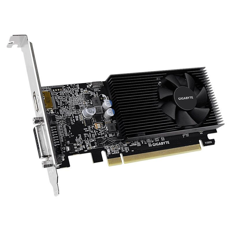 Placa de vídeo Gigabyte GT 1030 -2GB, Low Profile D4, DDR4 - GV-N1030D4-2GL