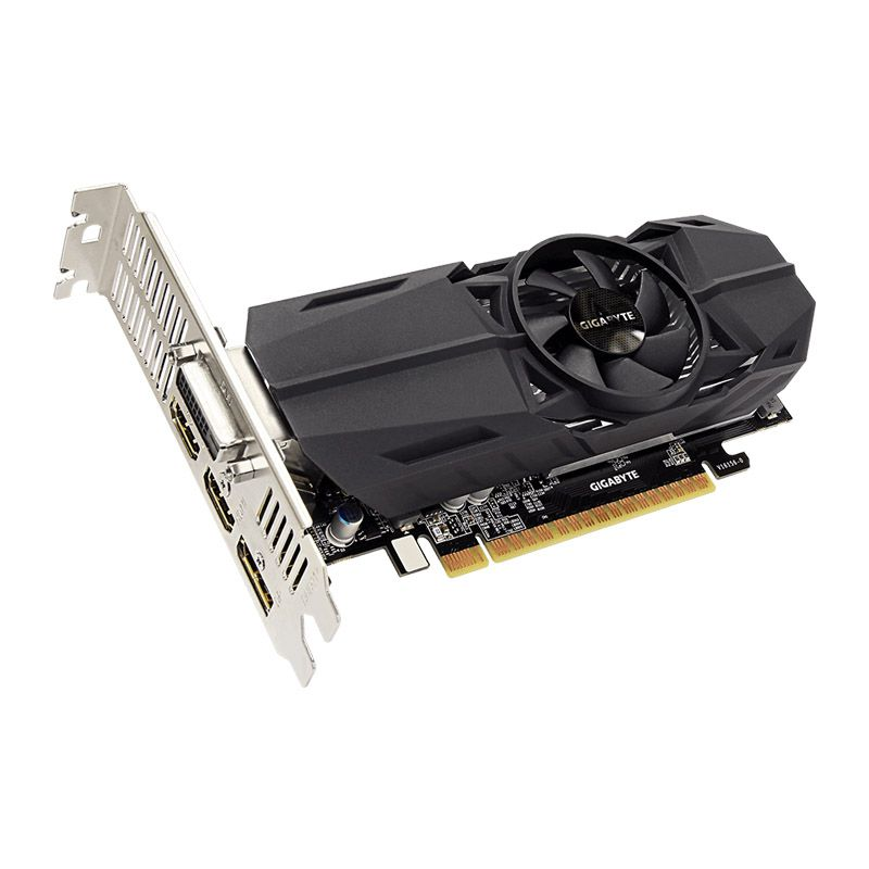 Placa de vídeo Geforce GTX 1050Ti  4GB, Gigabyte GDDR5, Low Profile - GV-N105TOC-4GL