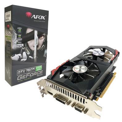 Placa de vídeo Geforce GTX750ti - 2GB Afox
