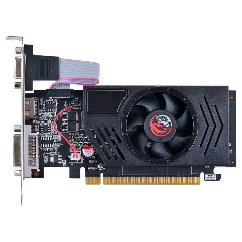 Placa de vídeo PCYes Nvidia GeForce GT 730 - 4GB, Low Profile, DDR3, 128 Bits, PCI-E 2.0
