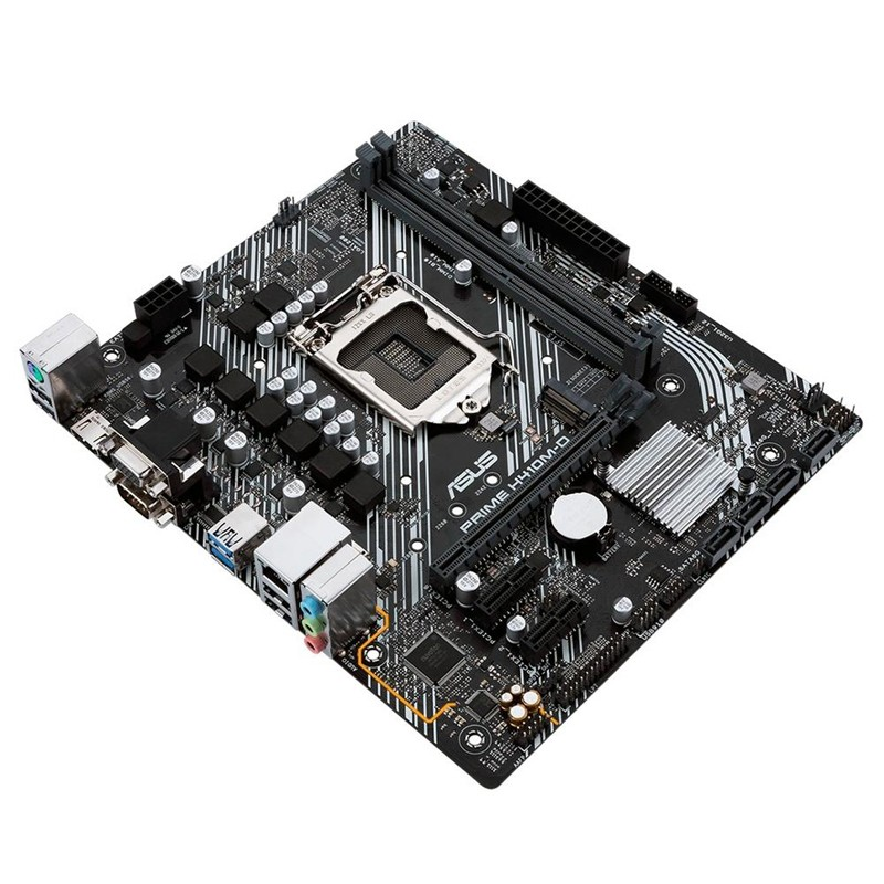Placa Mãe Asus Prime H410M-D DDR4, socket LGA 1200, chipset H410, mATX