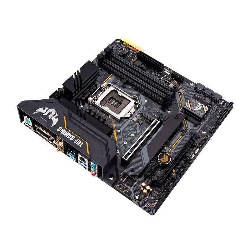 Placa Mãe Asus TUF Gaming B460M-Plus DDR4, socket LGA 1200, chipset B460, mATX