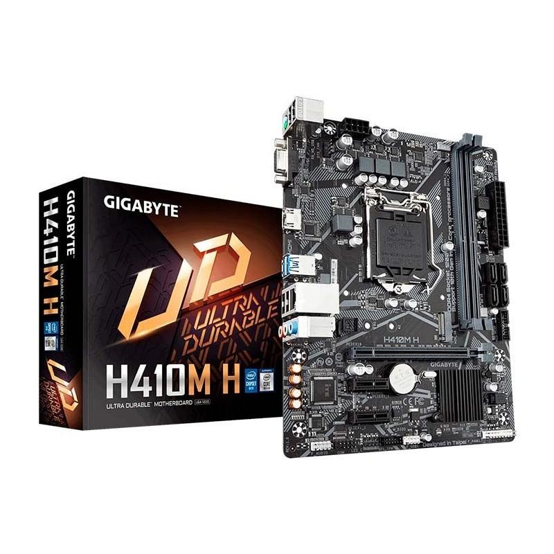 Placa Mãe Gigabyte H410M-H DDR4, socket LGA 1200, chipset H410, mATX