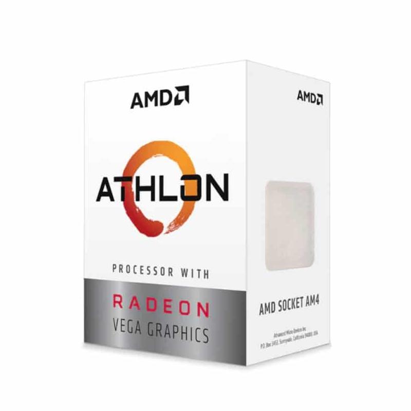 Processador AMD Athlon 3000G 3.5GHz, 2-core 4-thread, Radeon Vega, AM4, desbloqueado