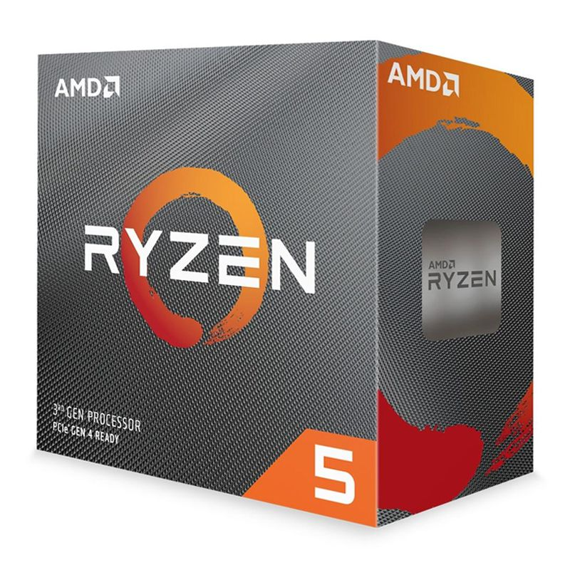 Processador AMD Ryzen 5 3600 3.6GHz (até 4.2GHz), 6-core 12-thread, cache 35MB, AM4, desbloqueado