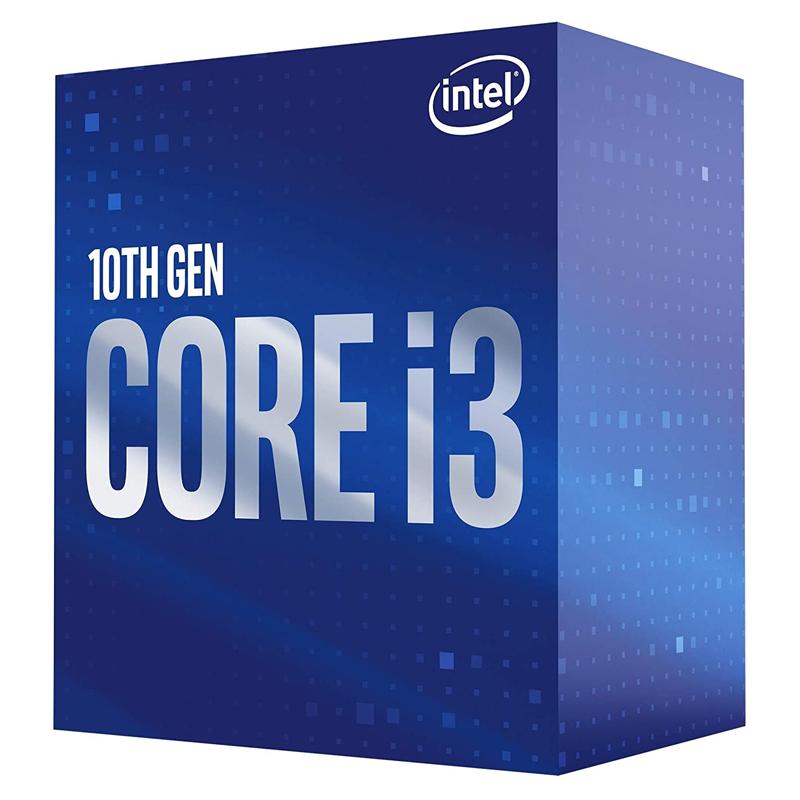 Processador Intel Core i3-10100 3.60 GHz (4.30GHz Turbo), 4-Core 8-Thread, Cache 6MB, LGA 1200