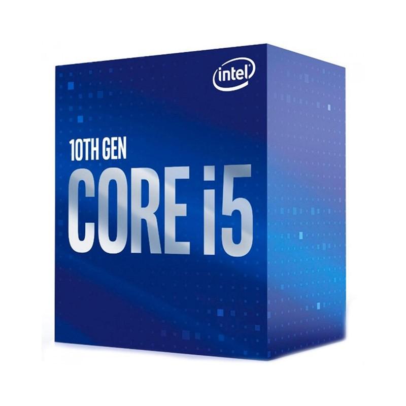 Processador Intel Core i5-10400 2.90GHz (4.30GHz Turbo), 6-Core 12-Thread, Cache 12MB, LGA 1200 - BX8070110400
