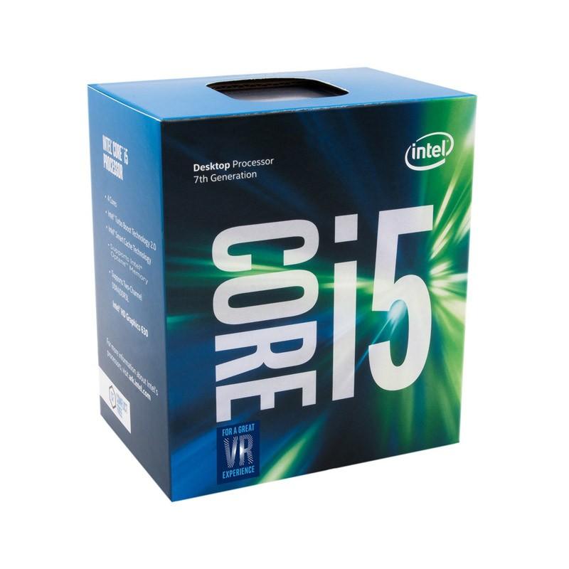 Processador Intel Core i5, 7ªGeração – 7600 Kaby Lake - Velocidade 3.5GHz, Cache de 6MB, LGA 1151, Intel HD Graphics 630 -  BX80677I57600