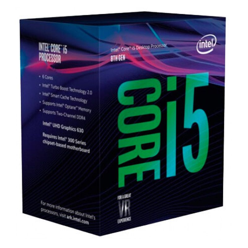 Processador Intel Core i5 8400 - Coffe Lake, Cache 9MB, 2.8Ghz, LGA 1151