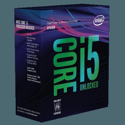 Processador Intel Core i5 de 8ª Geração - 8400 Coffee Lake - 2.8Ghz, 9MB, Thunderbolt 3 - BX80684I58400
