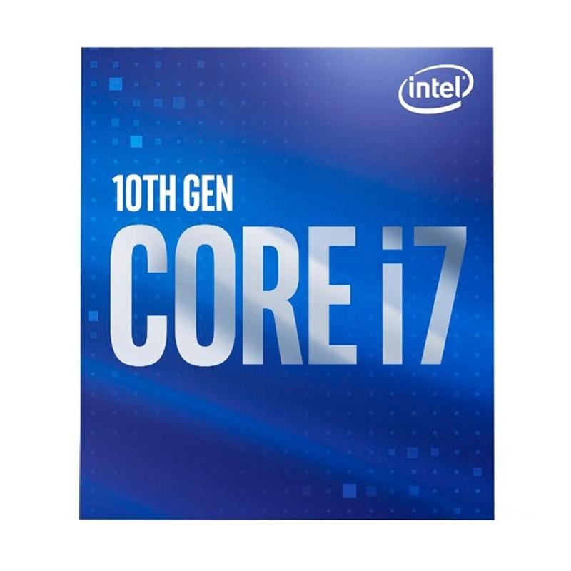 Processador Intel Core i7-10700 2.90GHz (4.80GHz Turbo), 8-Core 16-Thread, Cache 16MB, LGA 1200 - BX8070110700