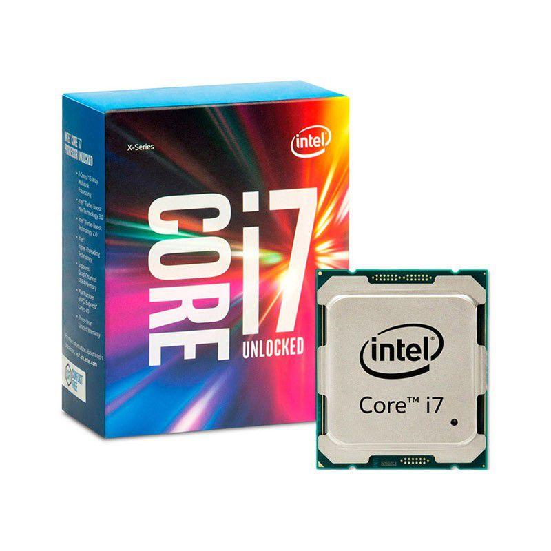 Processador Intel Core i7 - 6ªGeração 6800K - Velocidade 3.4GHz(4.3GHz Max Turbo), Cache de 15MB, Hexa Core, LGA 2011 - BX80671I76800K