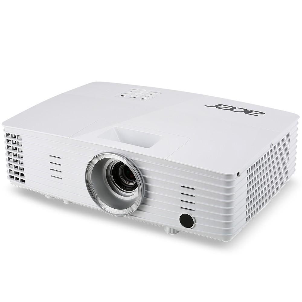 Projetor Acer P1185 - 3.200 Lumens, 20.000:1 Contraste, SVGA, HDMI, 3D Ready, Wireless - Branco