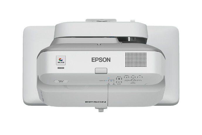 Projetor Epson BrightLink 675WI+ - 3.200 Lumens, 14.000:1 Contraste, WXGA, HDMI, Caneta Interativa - V11H743021