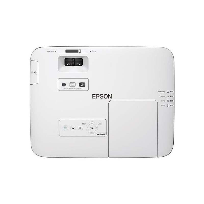 Projetor Epson PowerLite 2065 - 5.500 Lúmens, 3LCD, 15.000:1, Wireless, HDMI/MHL