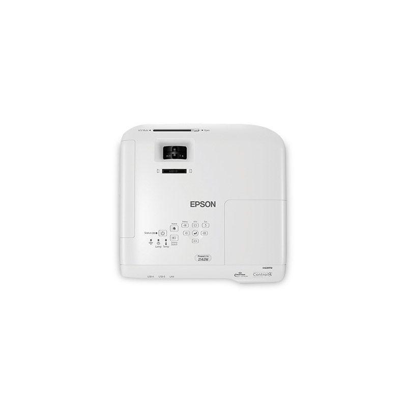 Projetor Epson PowerLite 2142W - 4200 Lumens, 15.000:1, WXGA, HDMI, Wireless