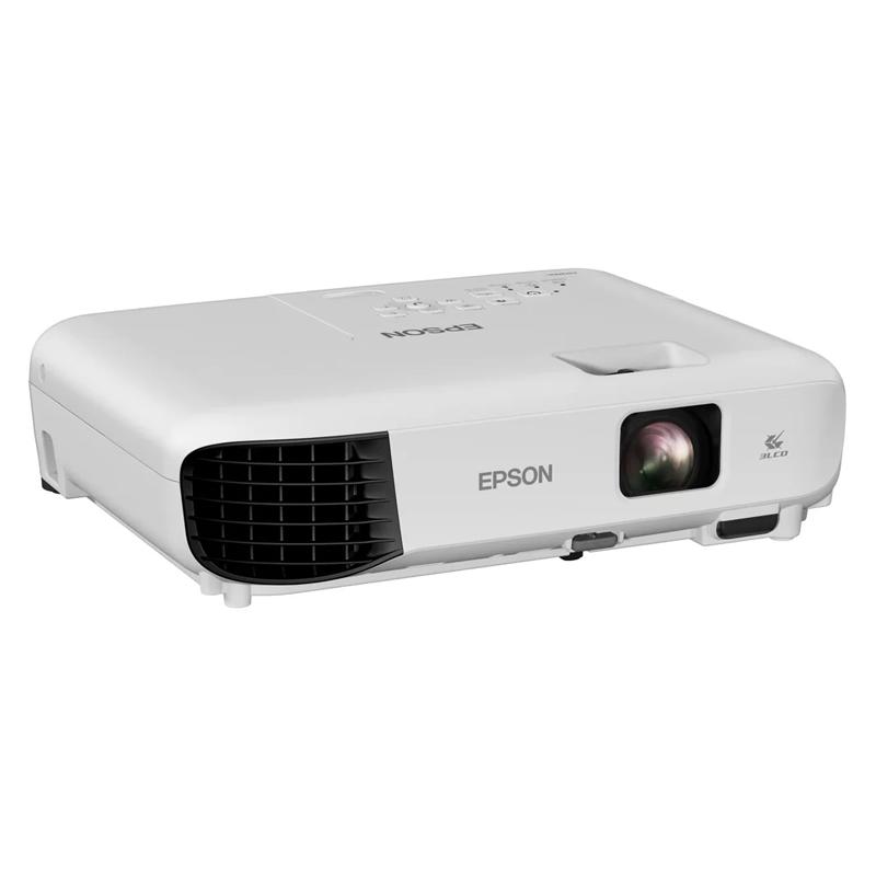 Projetor Epson PowerLite E10+ - XGA, 3600 Lumens, 3LCD, 15000:1, HDMI (substituto S41)