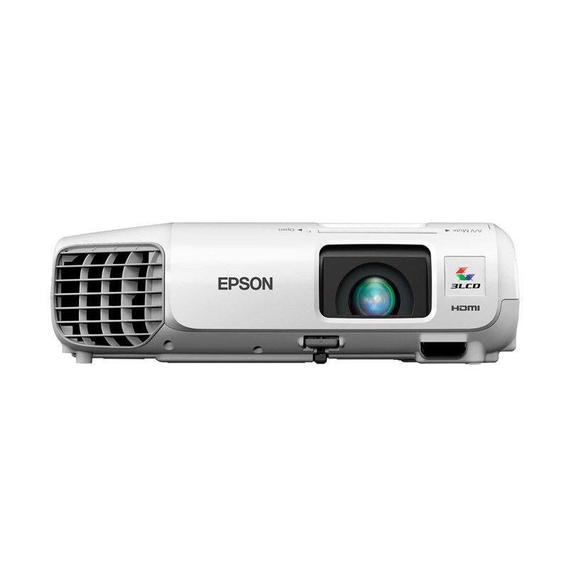 Projetor Epson PowerLite S27 - 3LCD, 2700 Lúmens, Contraste 10.000:1, Wireless, SVGA, HDMI, USB, Alto Falantes incorporados