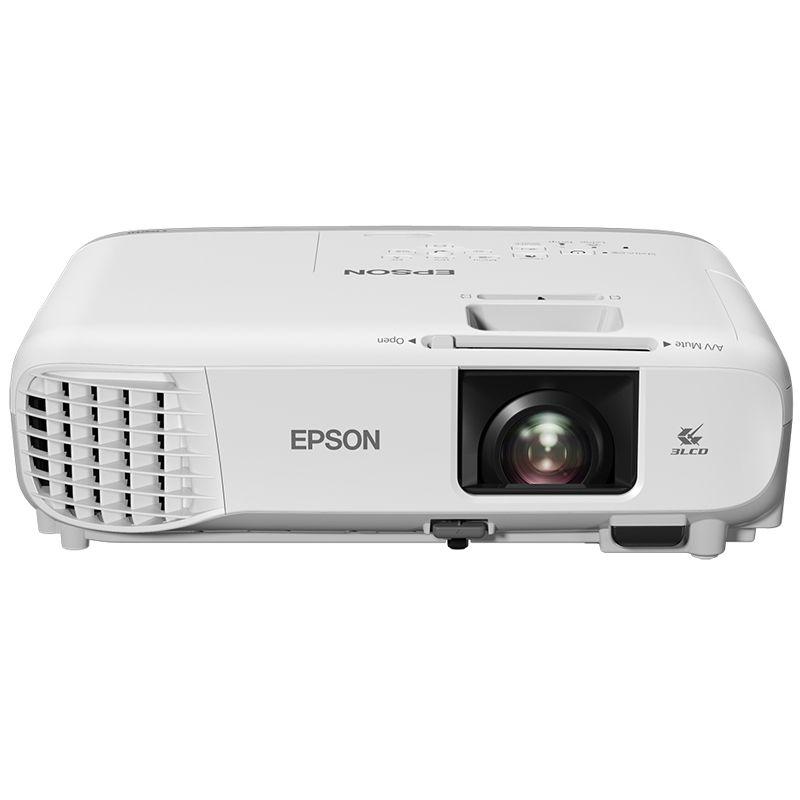 Projetor Epson PowerLite W39 - 3500 Lúmens, resolução WXGA, BYOD, HDMI, USB