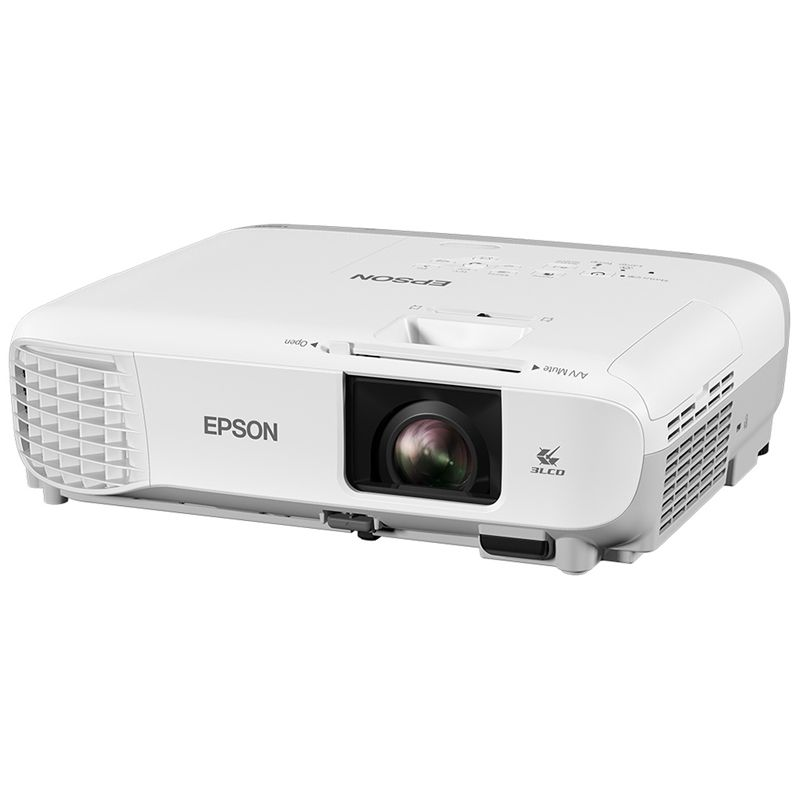 Projetor Epson PowerLite X39 - XGA, 3500 lúmens, 15.000:1, HDMI, USB, Wireless Ready
