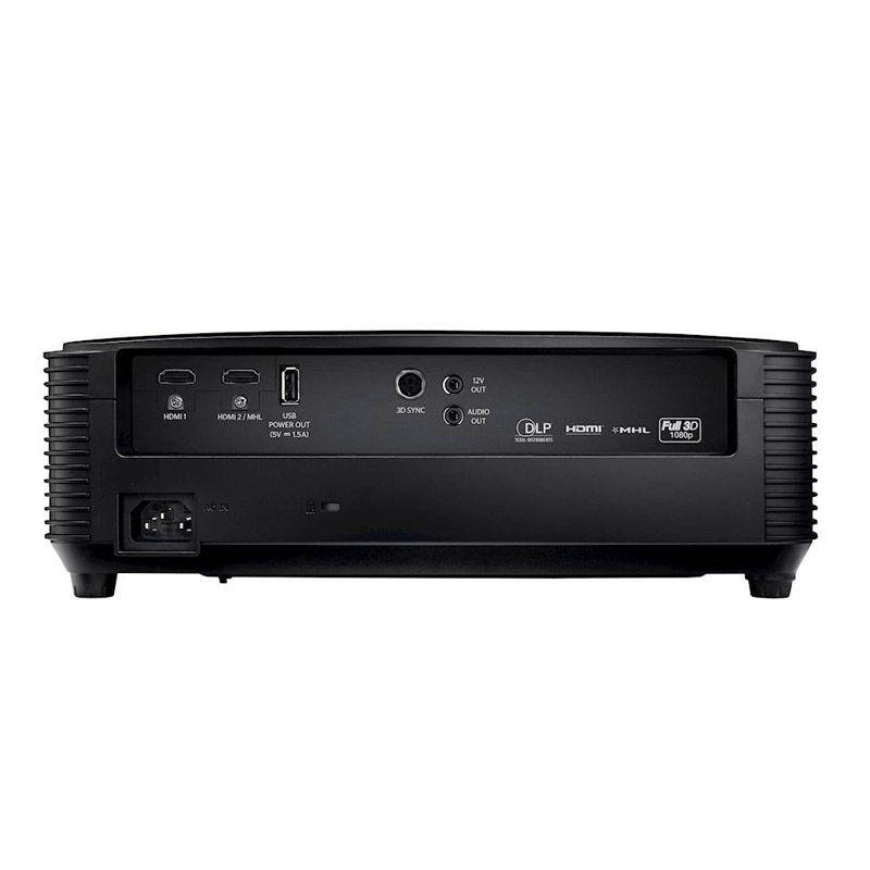 Projetor Optoma HD143X - FHD, 3D, 3000 Lumens, 23.000:1 Contraste, HDMI, MHL