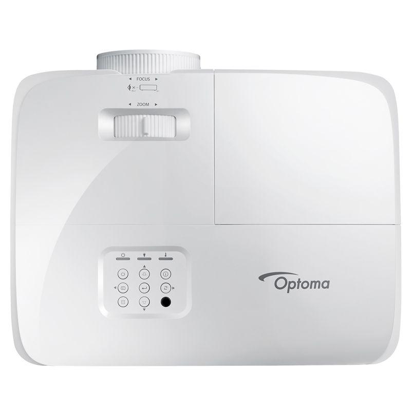 Projetor Optoma S343 - 3600 Lúmens, SVGA, 3D, HDMI, VGA