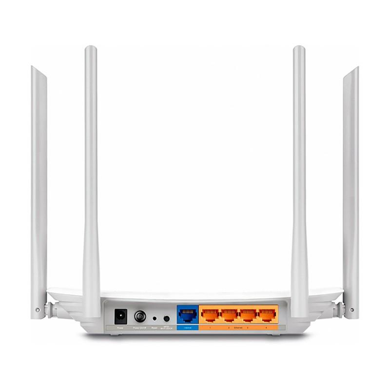 Roteador Wireless TP Link ARCHER C25 AC900, Dual Band Gigabit 2.4/5GHz, 4 Portas LAN, 1 Porta WAN, 4 Antenas - TP Link C25 AC900