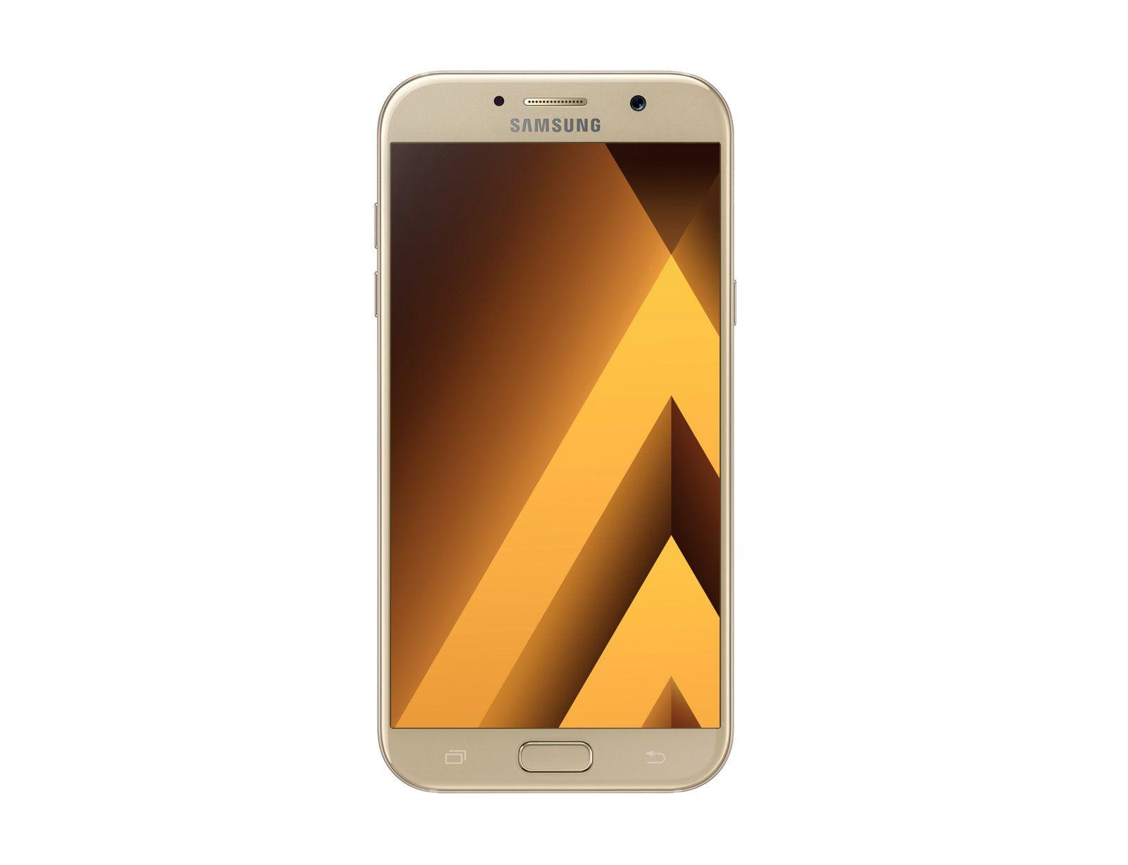 Samsung Galaxy A7 (2017) - 32GB, Resistente à água e a poeira, 16MP (f/1.9), Tela de 5,7