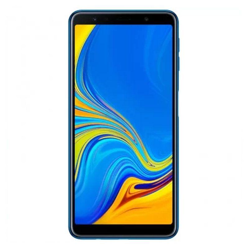 """Samsung Galaxy A7 Novo - 128GB, Câmera Traseira Tripla,  Super AMOLED de 6"""" - Azul"""