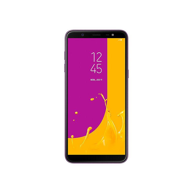 """Samsung Galaxy J8 - 64GB, Display Infinito de 6.0"""", Câmera Dupla, Leitor Biométrico, Dual Sim - Violeta"""