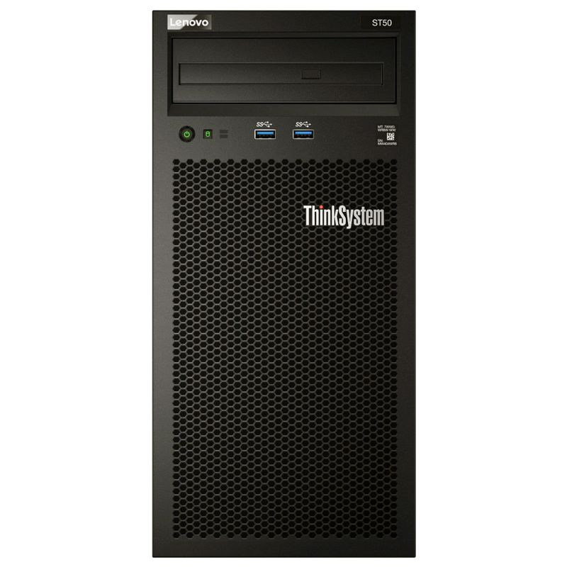 Servidor Lenovo ThinkSystem ST50 Intel Xeon E-2104G 3.2GHz, 16GB, HD 1TB