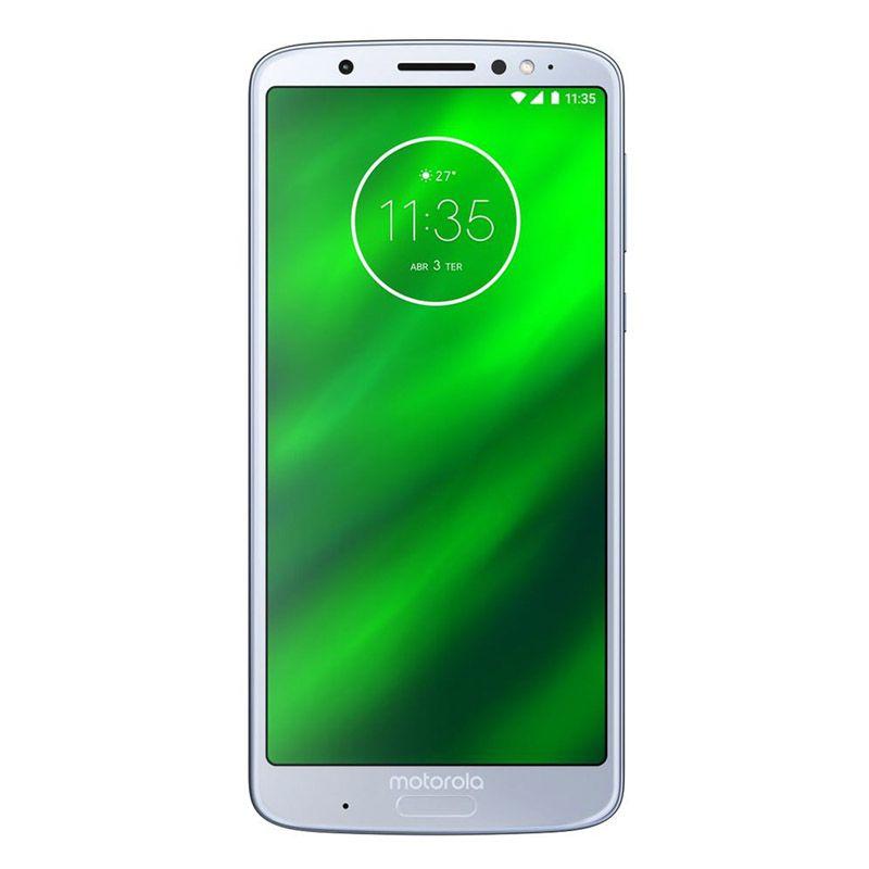 "Smartphone Motorola Moto G6 Plus - 64GB, Ram 4gb,  Tela 5.9"", 12MP, Octa-Core - XT1926, Topázio"
