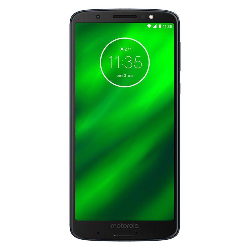 "Smartphone Motorola Moto G6 Plus - 64GB, Tela 5.9"", 12MP, Octa-Core - Índigo"