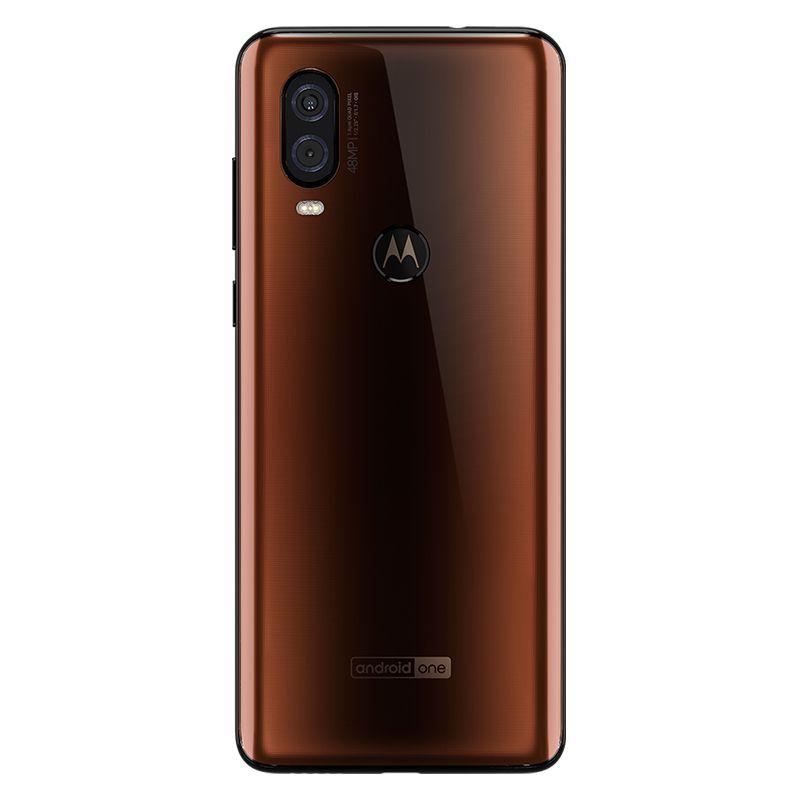 """Smartphone Motorola One Vision 128GB Bronze - Dual Chip, Câmera dupla 48+5MP e Frontal 25MP, Filmagem 4K, Tela 6.3"""" - XT1970-1"""