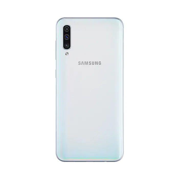 Smartphone Samsung Galaxy A50 Branco - 64GB, Selfie 25MP, Câmera tripla 25MP+5MP+8MP