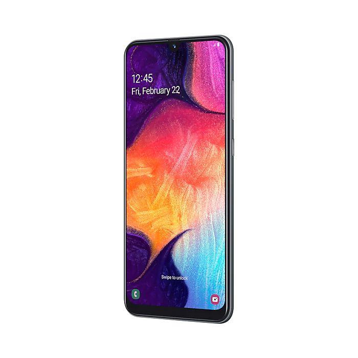Smartphone Samsung Galaxy A50 Preto - 64GB, Selfie 25MP, Câmera tripla 25MP+5MP+8MP