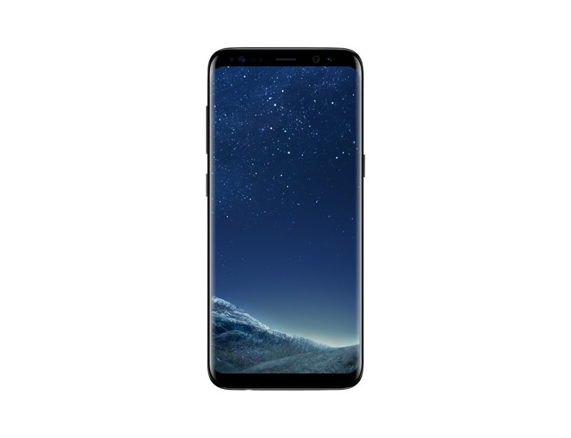 Smartphone Samsung Galaxy S8 - Octa Core 2.3Ghz, Android 7.0, Tela 5.8, 64GB, 4GB RAM,12MP Dual Pixel, 4G- Preto