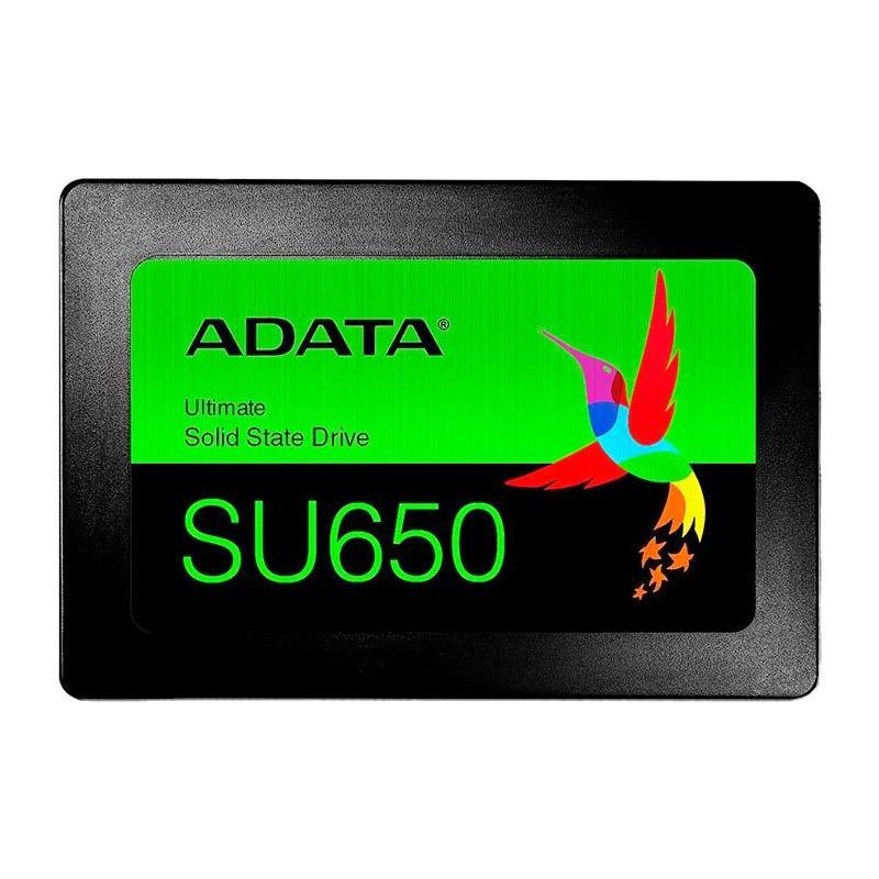 """SSD 120GB 2.5"""" Adata SU650 - 520MBs/450MBs - ASU650SS-120GT-R"""