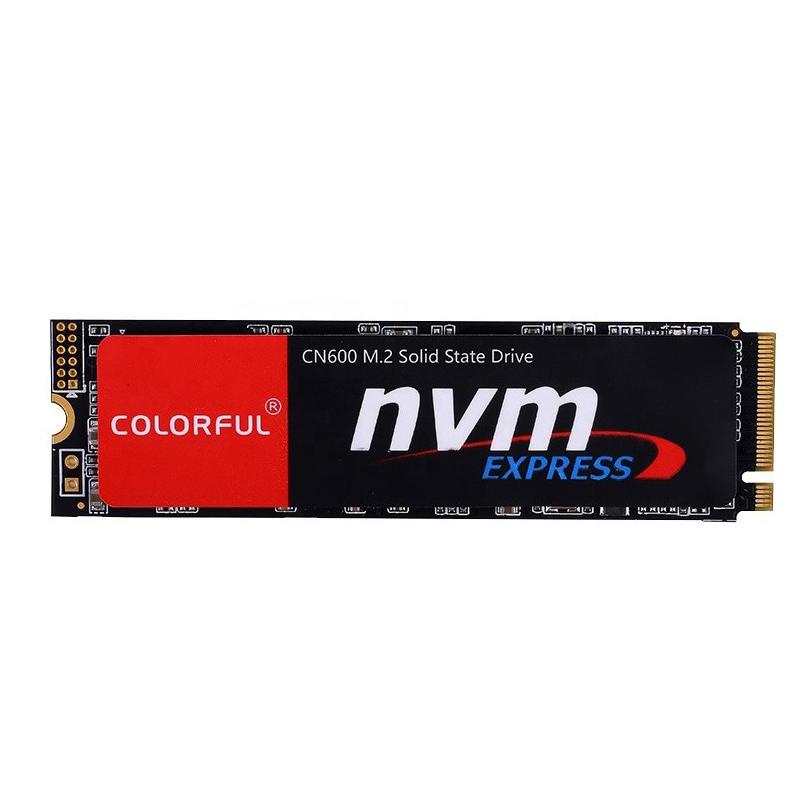 SSD 256GB M.2 NVMe SATA COLORFUL  - 1.600MBs / 900MBs - M2 CN600