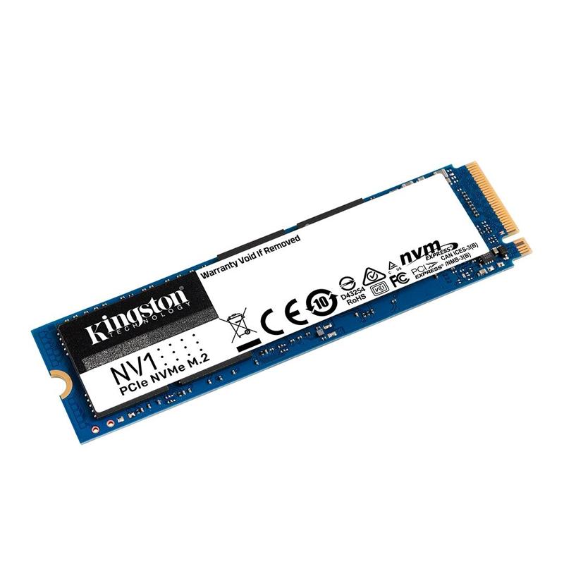 SSD 500GB NV1 M.2 NVMe Kingston - 2100MBs/1700MBs - M2 2280 SNVS/500G