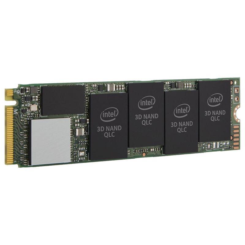 SSD 1TB M.2 NVMe Intel 660P - Leitura e Gravação 1800MB/s, PCIe M2 - SSDPEKNW010T8X1